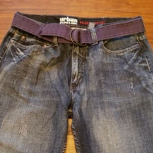 Mens 36x34 Urban Pipeline relaxed bootcut
